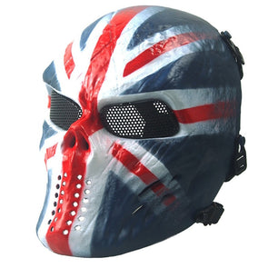Outdoor Wargame CS Paintball Airsoft Skull Warrior Full Face Mask Cosplay Phantom Military Tactical Hot - Cosplay Infinity