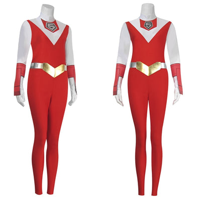 Japanese Anime Super Sentai Costumes MASKMAN RED MASK Takeru Jumpsuits Cosplay Customized High-end - Cosplay Infinity