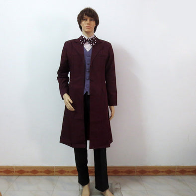 Doctor Who Dr 11th Eleventh Doctor Matt Smith Cosplay Costume Customize Any Size - Cosplay Infinity