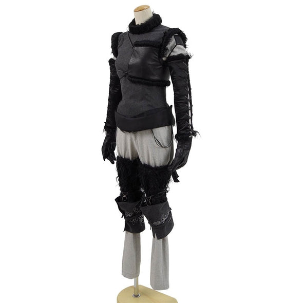 Anime! Game NieR:Automata A2 Gothic Uniform Cosplay Costume Fashion Custom-made Any Size - Cosplay Infinity