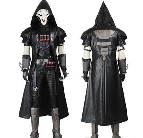 Game Reaper Cosplay Costume COS Gabriel DE Reyes Full Set Any Size Handmade For Halloween With Mask