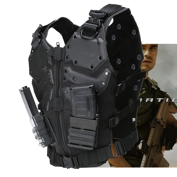 TF3 Special Forces 600D Nylon Tactical Vest Airsoft Body Armor for Man Outdoor Hunting Protective Vest - Cosplay Infinity