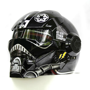 NEW Black Star Wars MASEI IRONMAN Iron Man helmet motorcycle helmet - Cosplay Infinity