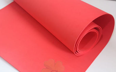 High density Red 2mm thickness Eva foam sheet cosplay children school Size 50cm*200cm, 19in x 78in