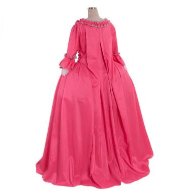 18TH Century Colonial Marie Antoinette Pink Ball Gown Dress Costume - Cosplay Infinity