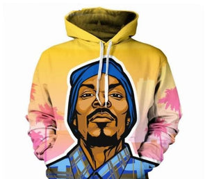 3D Print Snoop Dogg Hoodies Men/Women hip hop Sweatshirt Fashion - Cosplay Infinity