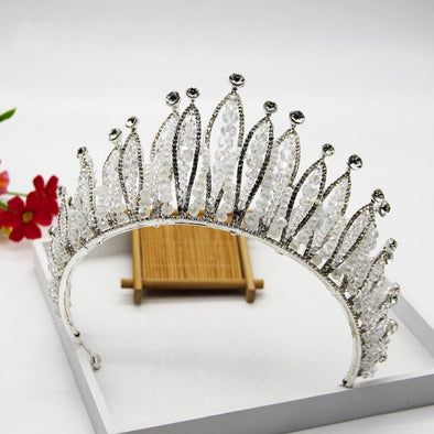 Elegant Wedding Crown Tiara Crystal Hair Accessories