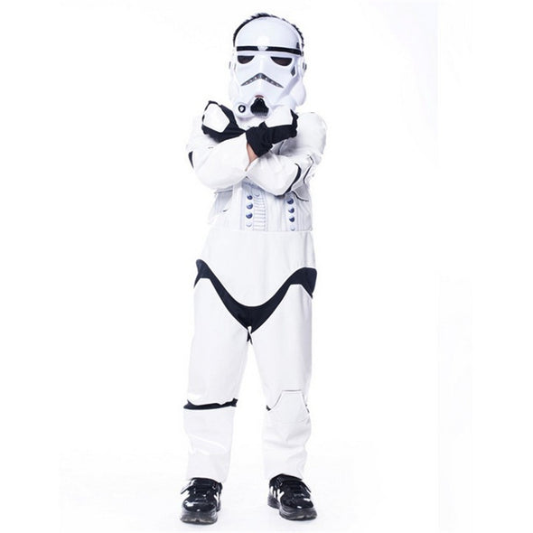 New Child Kids Deluxe Star Wars The Force Awakens StormTroopers Costume - Cosplay Infinity
