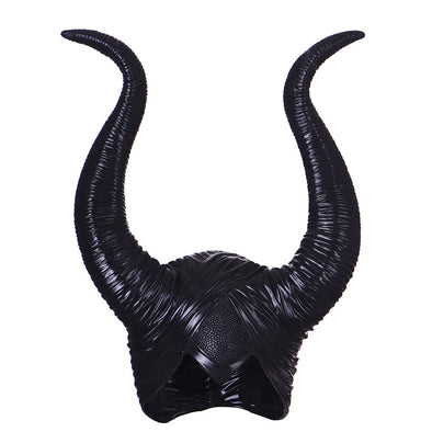 Maleficent Horns Hat Headpiece Women Men Cosplay Halloween Party Costume Jolie  Masks - Cosplay Infinity
