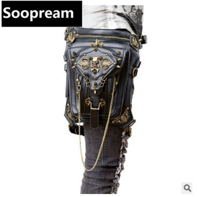 Thigh Holster Shoulder Bag Steampunk Motor Leg Waist Bag - Cosplay Infinity