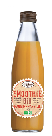 Meneau Smoothie Mangue Passion verre 25cl