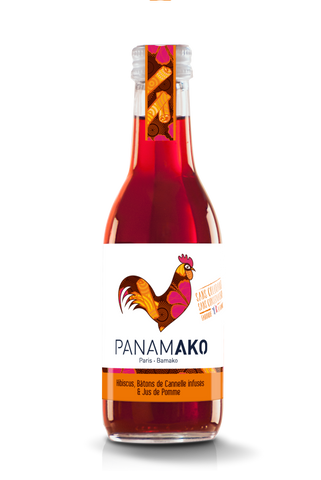 Hibiscus Pomme Canelle 25cl
