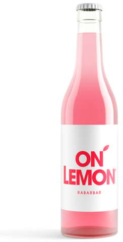 On Lemon Rhubarbe verre 33cl