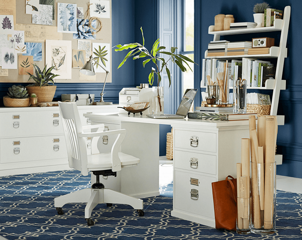 The Lazy Girl's Guide to Decorating a Hyper Productive Home Office