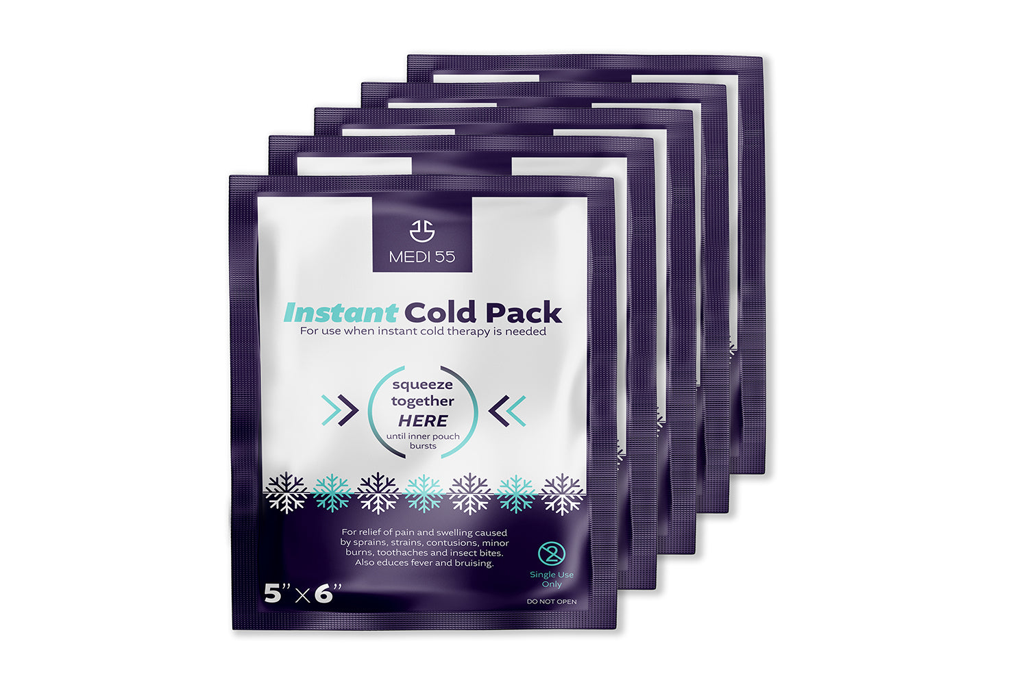 Instant Cold Packs - Disposable Cold Compress Therapy
