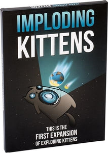 Exploding Kittens: Imploding Kittens Card Game (Expansion Pack)