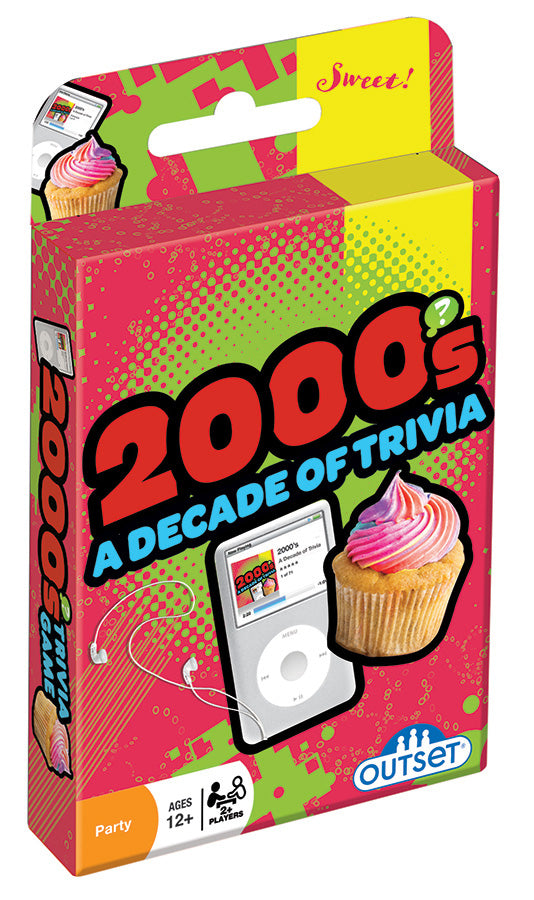 Trivia Card Games: 2000's A Decard of Trivia