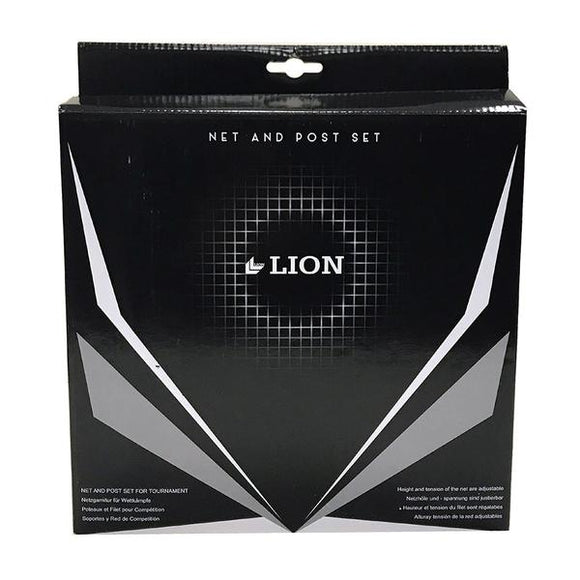 Table Tennis: Table Tennis Net and Post Set - Lion