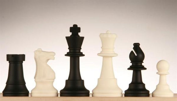 Silicone Chess Pieces with 3.5