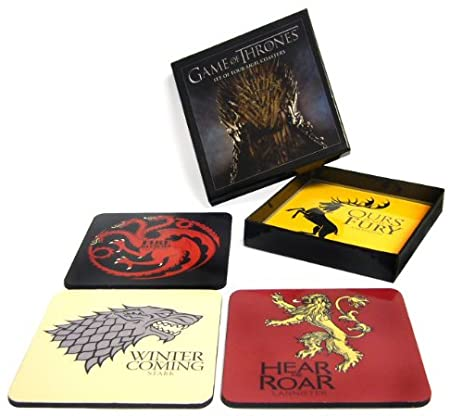 Game Of Thrones: Set of 4 Sigil Coasters