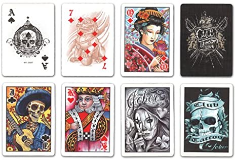 Playing Cards: Club Tattoo - Bicycle