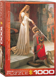 Fine Art (Leighton) The Accolade- Eurographics 1,000 piece Jigsaw Puzzle
