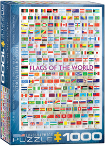 Flags of the World - EuroGraphics 1,000 piece Jigsaw Puzzle
