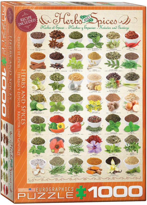 Herbs and Spices - EuroGraphics 1000-Piece Puzzle