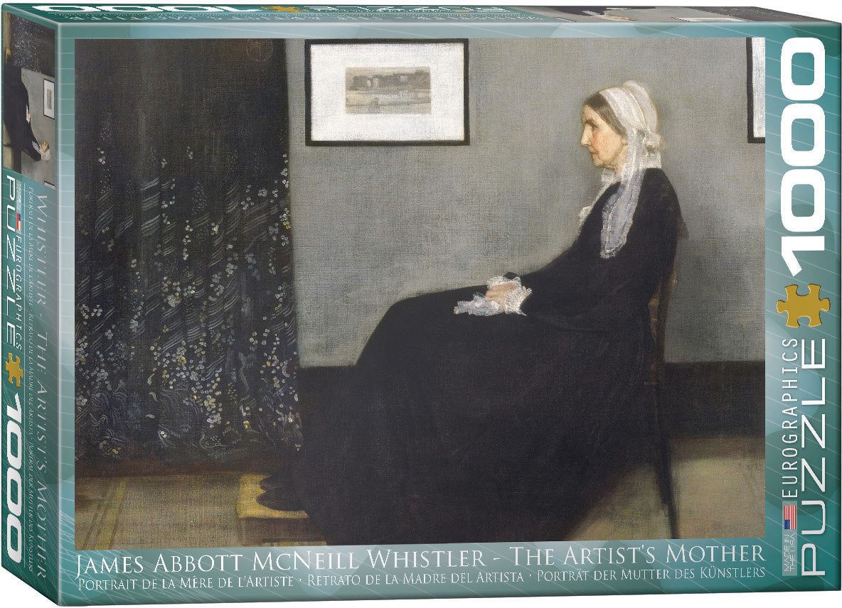 Fine Art (Whistler) The Artist's Mother - Eurographics 1,000 piece Jigsaw Puzzle