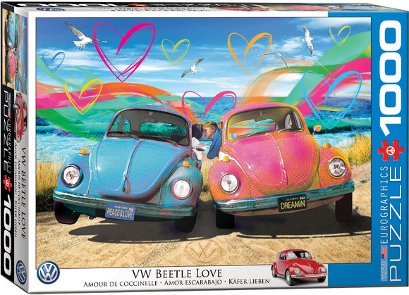 VW Beetle Love - EuroGraphics 1,000 piece Jigsaw Puzzle