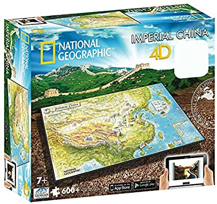 3D/4D Puzzles - National Geographic IMPERIAL CHINA - 4D Cityscape 600+ piece jigsaw puzzle