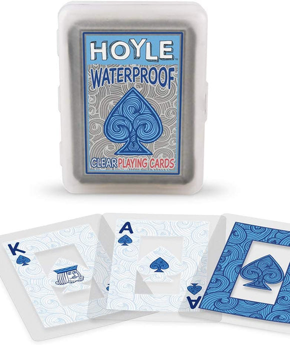 Playing Cards: Waterproof/Clear - Hoyle