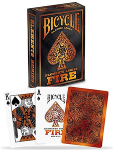 Playing Cards: Fire (Elements Series) - Bicycle