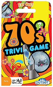 Trivia Card Games: 70's Trivia Game