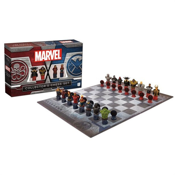 CHESS: MARVEL Collector's Chess Set