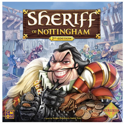 Sheriff of Nottingham, 2nd edition Board Game