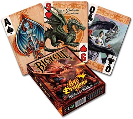 Playing Cards: Age of Dragons (Anne Stokes) - Bicycle