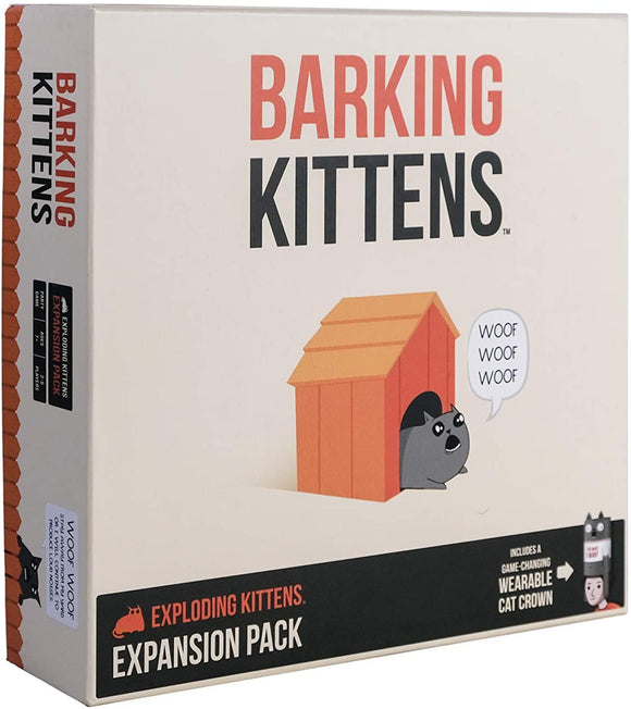 Barking Kittens (Exploding Kittens Expansion Pack)