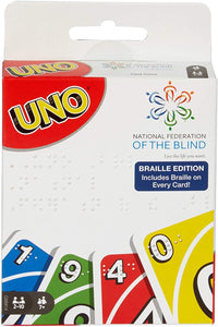UNO Braille Edition Card Game