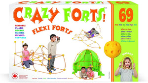 Crazy Forts! Flexi Forts 69 Pieces