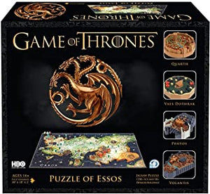 3D/4D Game of Thrones: Puzzle of Essos- 4D Cityscape 1350+ jigsaw puzzle pieces