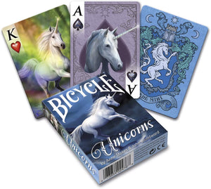 Playing Cards: (Anne stokes) Unicorns - Bicycle
