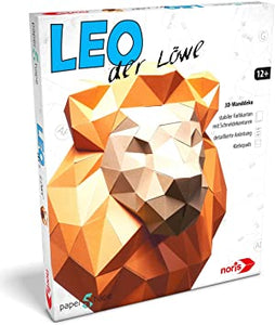 Papers Shape 3D Lion (German)