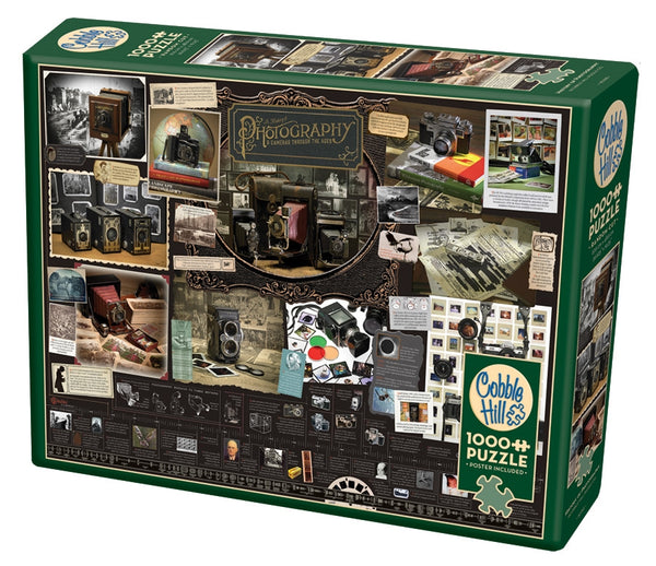 History of Photography - CobbleHIll 1,000 piece Jigsaw Puzzle