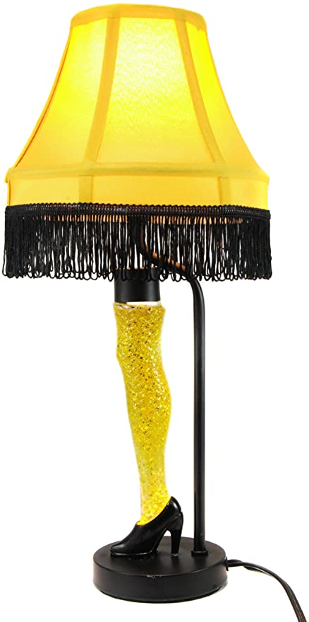 A Christmas Story Glitter Motion Leg Lamp - CLEARANCE