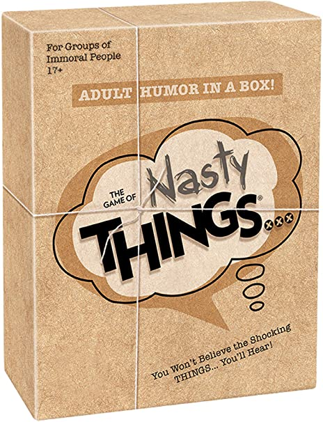 The Game of Nasty Things (Advisory Adult Content)
