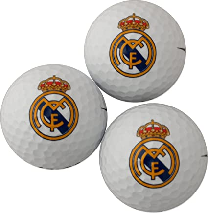 Golf Ball Gift Pack : Real Madrid F.C (CLEARANCE)