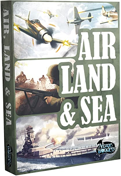 Air Land & Sea Card Game