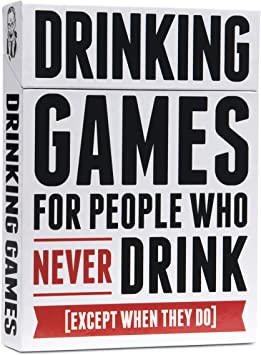 Drinking Games For People Who Never Drink Card Game