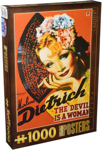 Vintage Posters - Marlene Dietrich - DTOYS 1000 piece Jigsaw Puzzle